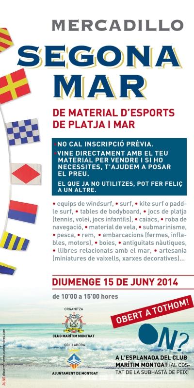 Cartel para Feria de productos Náuticos.